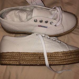 Superga platform shoes